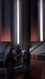 Spotkanie trzech Mrocznych Lordów na Byss