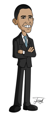 Barack-obama-cartoon-caricature