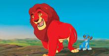 Rubinowy i lwiątko