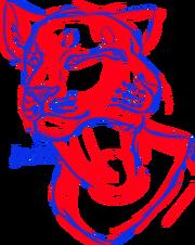 Lew chimera dwugłowy