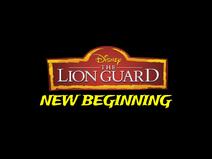 The Lion Guard New Beginning logo