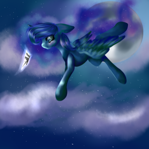 Princess Luna by Milakia