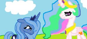 Care MPC123 - Luna i Celestia princess