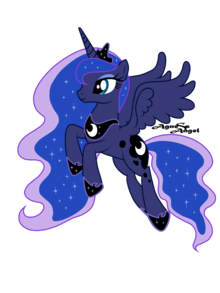 Princess Luna .by AgnessAngel