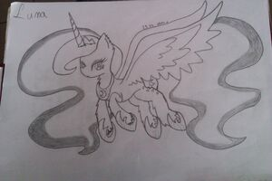 Princess luna by snasza