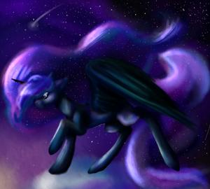 Princess Luna (2) by Milakia