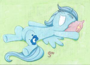 Przeszczęśliwa Luna by S690