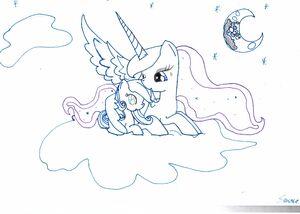 Snowdrop i luna by snasza