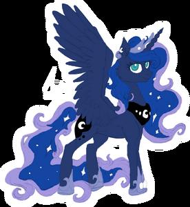 Luna by Cruelglance