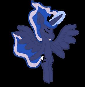 Księżniczka Luna by Sanabellee