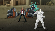 DiamondHead,Generator Rex and White