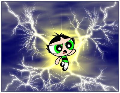 Buttercup Powers Up by HMontes
