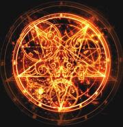 Quincy Zeichen Magic Circle