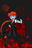 Happy halloween by bleedmanlover-d5jlajb