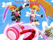 Duplo ataque boomerangue by bipinkbunny-d4sa5kx