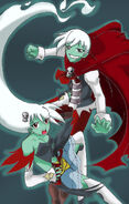 Twin ghost by yukisnishika-d5y3cqu