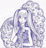Bubbles random scketch cute xd by sweetxdeidara-d4o5xn5