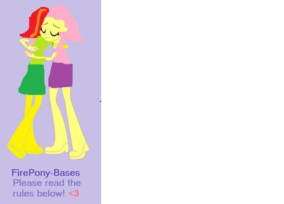 Abrazo en equestria girls
