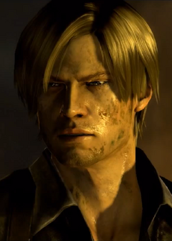 Leon S Kennedy RE6 Perfil2
