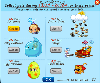 Some limited pet items