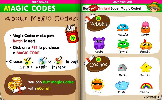 Magic Codes | The Fantage Wiki! | FANDOM powered by Wikia
