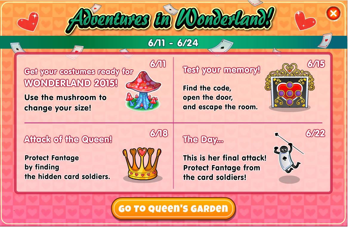 2015 Wonderland | The Fantage Wiki! | FANDOM powered by Wikia