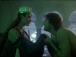 Dark Witch and Romualdo