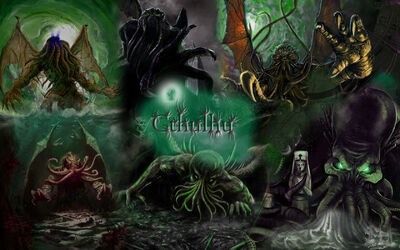 Cthulhu by Goliith