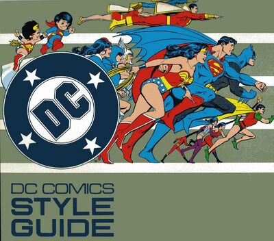 Dc comics style guide 1982 front cover