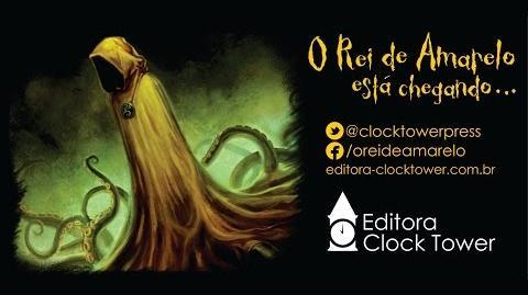 Booktrailer - 'O Rei de Amarelo' (Ed. Clock Tower) - Edição Limitada!