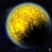 Yellow-planet-photos