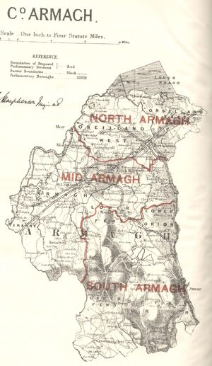 Mapa armagh