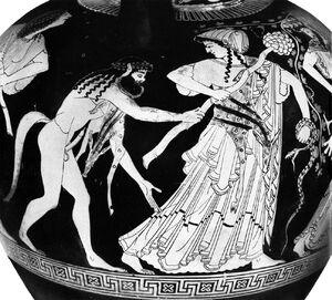 Satyr-Maenad