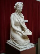 A veiled Vestal Virgin by Raffaele Monti 4