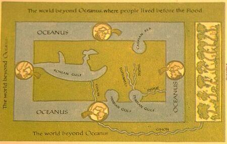 Map cosmas b