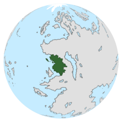 Location of Cercasia on the globe.