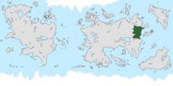 Location of Voxanya on the world map.