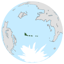 Location of Ermy on the globe.