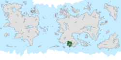 Location of Evergreen on the world map.