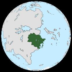 Location of Foxtavia on the globe.