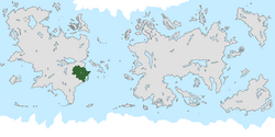 Location of Foxtavia on the world map.