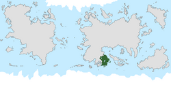Location of Maronesia on the world map.