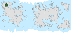 Location of Golden Land on the world map.