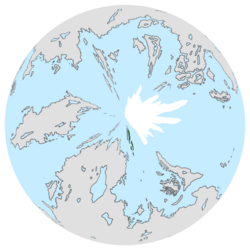 Location of White Havens on the globe.