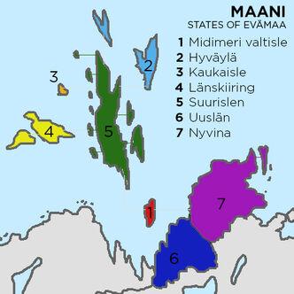 Ovum States map