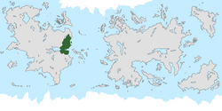 Location of Deep Valley on the world map.