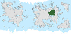 Location of De Vremdspongeln on the world map.