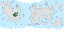 Location of Delinia on the world map.