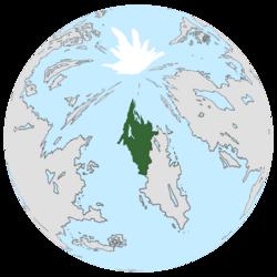 Location of Lanovina on the globe.