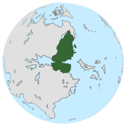 Location of Deep Valley on the globe.